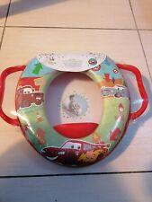 NEUF - Réducteur toilette WC enfant confort - CARS FLASH MC QUEEN DISNEY