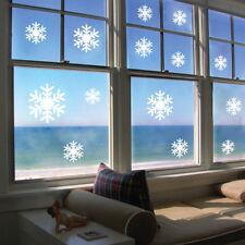 Snowflakes Vinyl Wall Stickers Christmas Snow Bedroom Decal Door Car Decoration