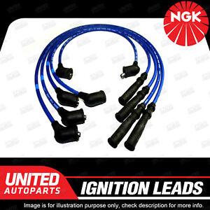 NGK Spark Plug Ignition Lead Set for Nissan Urvan E24 Saab 99 4Cyl