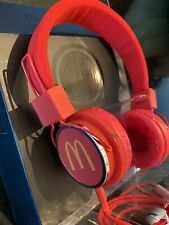McDonald's Remix 300 High Definition Headphones Red - New In Box