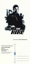 THE HIRE THE MOVIE UNUSED ADVERTISING COLOUR POSTCARD
