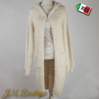 Wolfairy Womens Italian Plus Size Spring Quirky Cardigan Jumper Jacket 8-18
