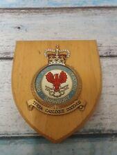 More details for old raf royal air force shawbury station crest shield plaque