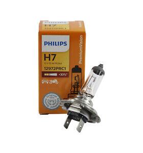 Genuine PHILIPS Premium Vision Headlight H7 Globe 12V 55W - Single Box