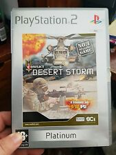 Conflict Desert Storm (no booklet) - PLAYSTATION 2 PS2  - FREE POST
