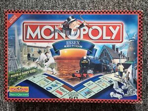MONOPOLY ESSEX  EDITION BOARD GAME 2001 edition Game. Complete!!!