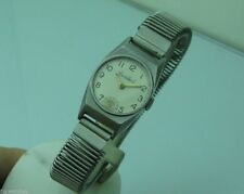 CORTEBERT MECHANICAL Cal. 110 STAINLESS STEEL 22mm VINTAGE RARE WATCH FOR LADIES
