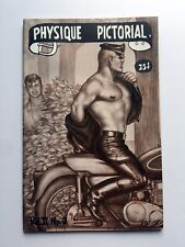 November 1961 Physique Pictorial Gay Men's Erotica Magazine Tom of Finland Art