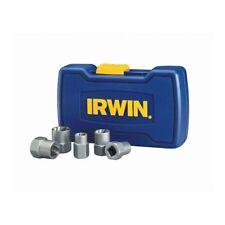 IRWIN BOLT-GRIP 5 Pack Bolt Extractor Tool Set Universal Lobular Design Durable