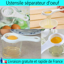Ustensile Séparateur jaune d'œuf Plastique cuisine nouveau  accessoire pratique