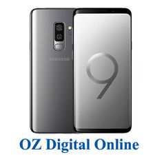 "NEW Samsung Galaxy S9+ Plus Dual Sim G965FD 128GB Grey 12MP 4G 6.2"" Unlocked"