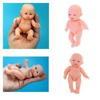 2Pcs 11cm Realistic Baby Doll Vinyl Newborn Infant Simulation Model Kids Toy