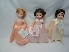 "Madame Alexander 14"" Dolls First Ladies of USA  Lot of 3"