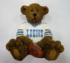 Detroit Lions NFL Football Ceramic Mini Teddy Bear Figurine by Elby Gifts