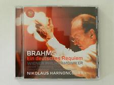 CD Brahms Ein deutsches Requiem Nikolaus Harnoncourt Wiener Philharmoniker Rca