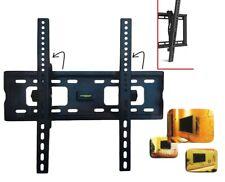 """SUPPORTO STAFFA PARETE TV LCD PLASMA DA 23"""" A 55"""" POLLICI VESA 75KG INCLINABILE"""