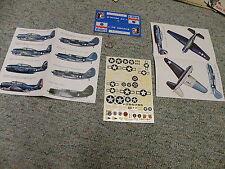 Esci decals 1/72 TBF TBM Avenger SB2C Helldiver variants    C17