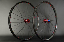"Ruedas 29"" carbon Clincher Tune King + kong Boost (red) Duke Lucky Jack 1330g"