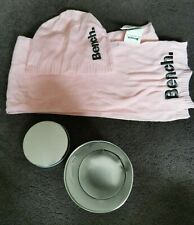 Bench Pink Hat and Scarf Gift Set in Tin