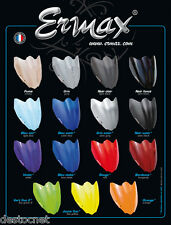 Saute vent bulle Ermax HP + 5 Kawasaki Z 750 2007/2012 Gris  060354060