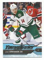 2016-17 UD Young Guns #459 Joel Eriksson Ek RC Rookie Minnesota Wild