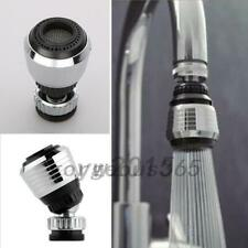 360 Swivel Water Saving Tap Aerator Faucet Diffuser Nozzle Filter Kitchen