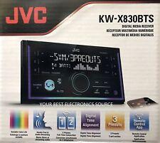 NEW JVC KW-X830BTS Double DIN SiriusXM Ready In-Dash Digital Media Car Stereo