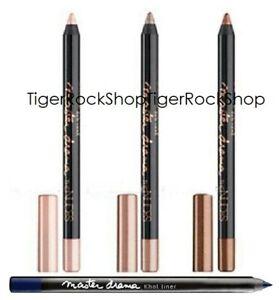 eye liner Maybelline Master Drama Khol Liner Crayon // brownie blue pearl taupe