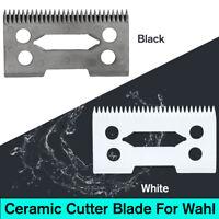 1-2pcs 2 Holes Clipper Ceramic Cutter Blade Magic Clip For Wahl Shear Clipper