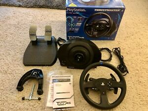 Thrustmaster T300RS Racing Wheel and Pedals Set -- Barely Used - PS4/PS3/PC