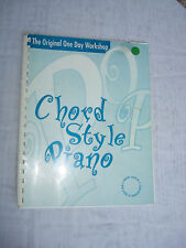 Popular Chord Style Piano The New School of American Music 1996 Robert Laughlin
