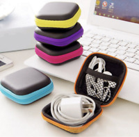 Carrying Hard Case Box Earphone Earbud Storage Pouch Bag Zipper FAST SHIPPING!!!