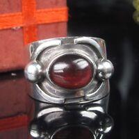 Turmalin Echt Silber 925 Ring 17.2mm / 54 Damen Desginer Unikat
