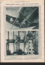 1919 MONSTER BRITISH AIRSHIPS NEW TYPE OF RIGID DIRIGIBLE R29