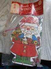 Vtg Santa Clause Wind Song Chimes Nip Original from Adriane Taiwan