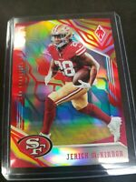 2018 Panini Phoenix Color Burst #87 Jerick McKinnon San Francisco 49ers Card