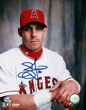 Anaheim Angels Brad Fullmer Signed 8X10 Photo Autograph very clean