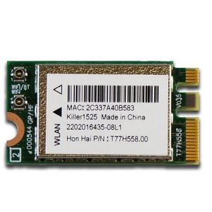 Dell Bigfoot Killer 1525 N1525 802.11ac Card K1D64 4.0 Dual Band Wifi BT 17 R2