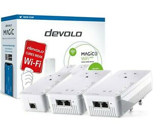 Devolo Magic 2–2400: Ultimate Whole Home Mesh WiFi Kit Over Powerline Adaptors