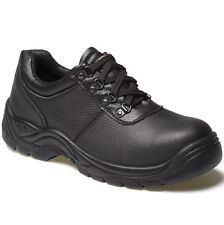Dickies Hombre Clifton Negro Zapatos Para Seguridad en el trabajo Talla RU 3