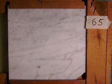 Marmor Fliesen, Restposten, 29€/qm,  White poliert 30,5x30,5x1 cm Nr 65