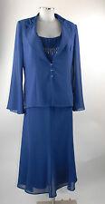 Bagatelle Kostüm 46 Dreiteiler Rock, shirt  Blazer blau elegant neu m Etik