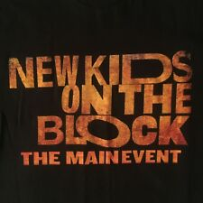 two sided New Kids On The Block t shirt - 2015 Main Event Tour - New Nwot - (M)