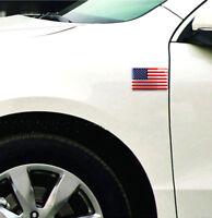 American US Flag 3D Car Sticker Car Decor Decal Badge Emblem Adhesive Aluminium1