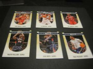 2011/12 Panini NBA Hoops Atlanta Hawks Team Set 6 Cards