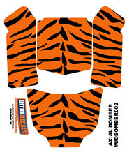 Ultradecal Tiger Skin Axial Bomber Body Skin Decal Wrap Sticker 3M Vinyl Bengal