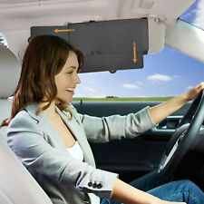WANPOOL Car Visor Anti-glare Sunshade Extender for Front Seat Driver Passenger