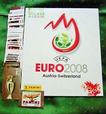 Panini Fußball EM 2008 Österreich/Schweiz premium Komplettsatz Hochglanz int.