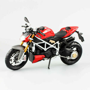 Ducati  Scale Streetfighter S Mod Diecast Bike Model Motorcycle Toys Collection