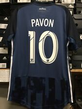 Adidas La Galaxy Away Jersey Authentic 2019/20 Player Pavon #10 Size Large  Only